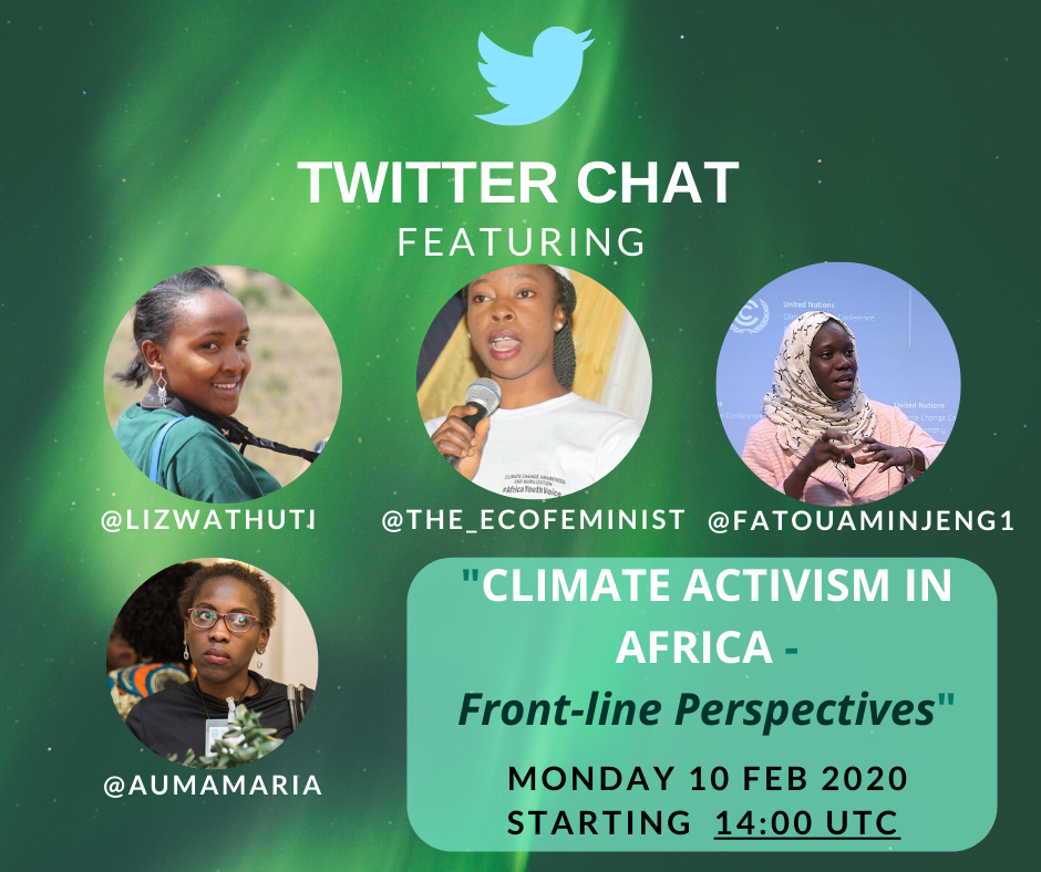 Twitter Chat - Climate Activism in Africa